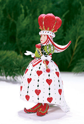 Queen of Hearts Ornament