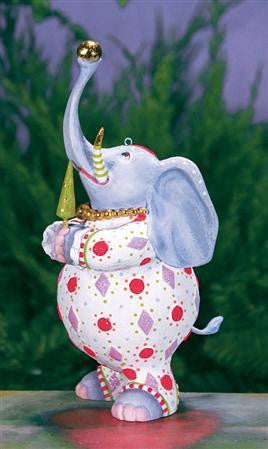 Eleanor Elephant Ornament