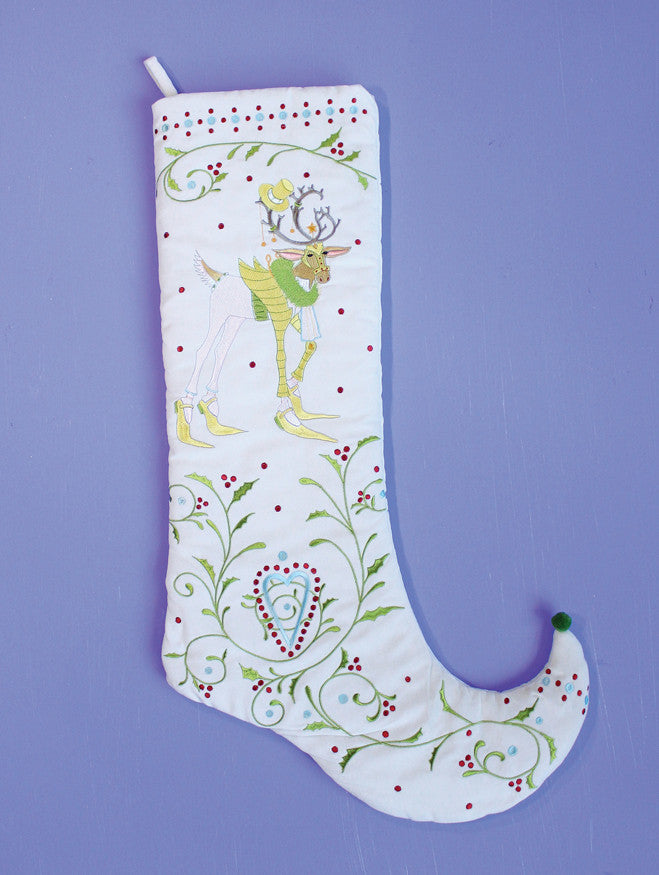 Dash Away Prancer Stocking