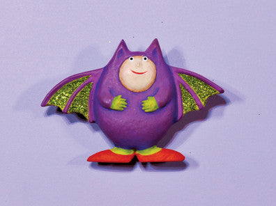 Bat Costume Pin