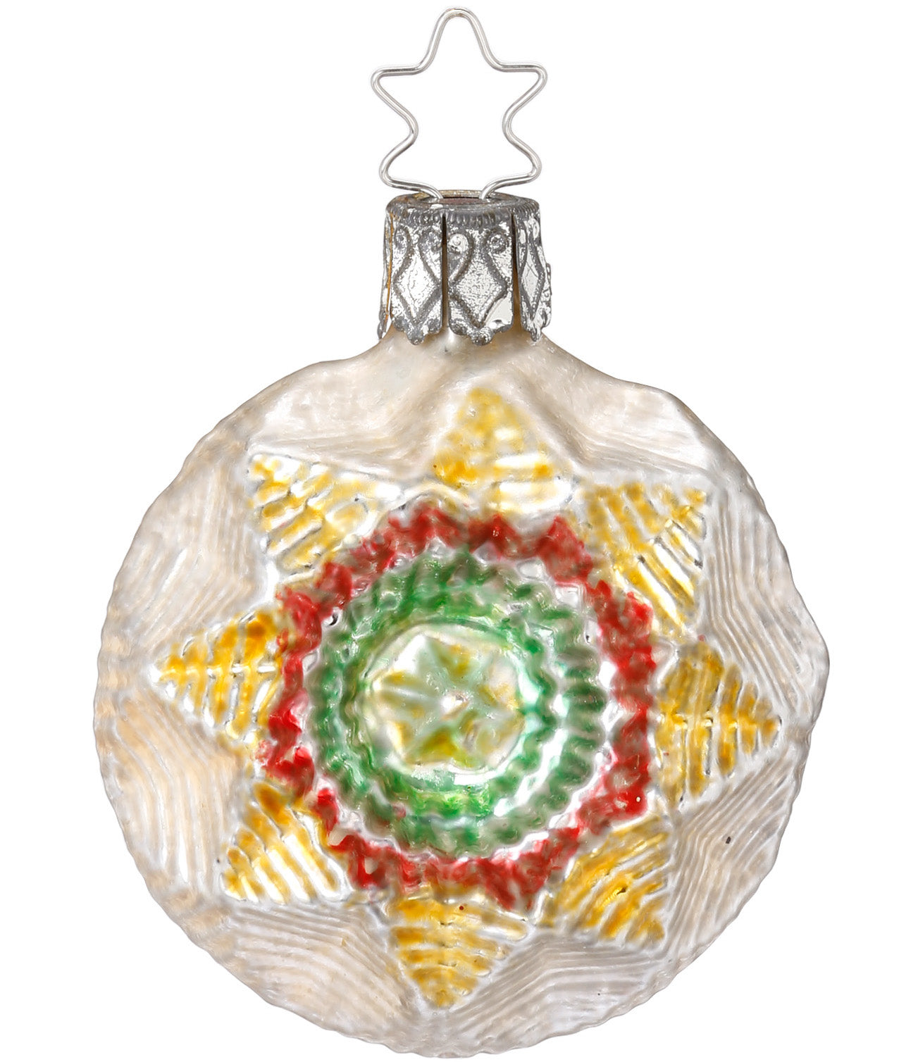 Vintage Star Reflection Ornament