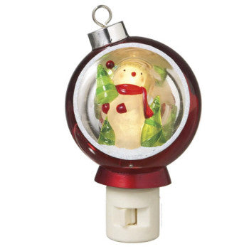 Snowman Diorama Night Light