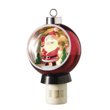 Santa Diorama Night Light