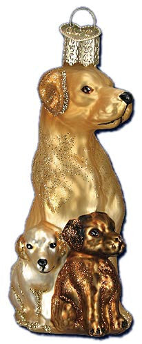 Mama and Pups Ornament