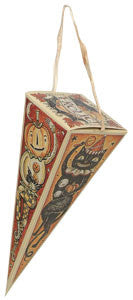 Halloween Frolic Triangle Candy Box