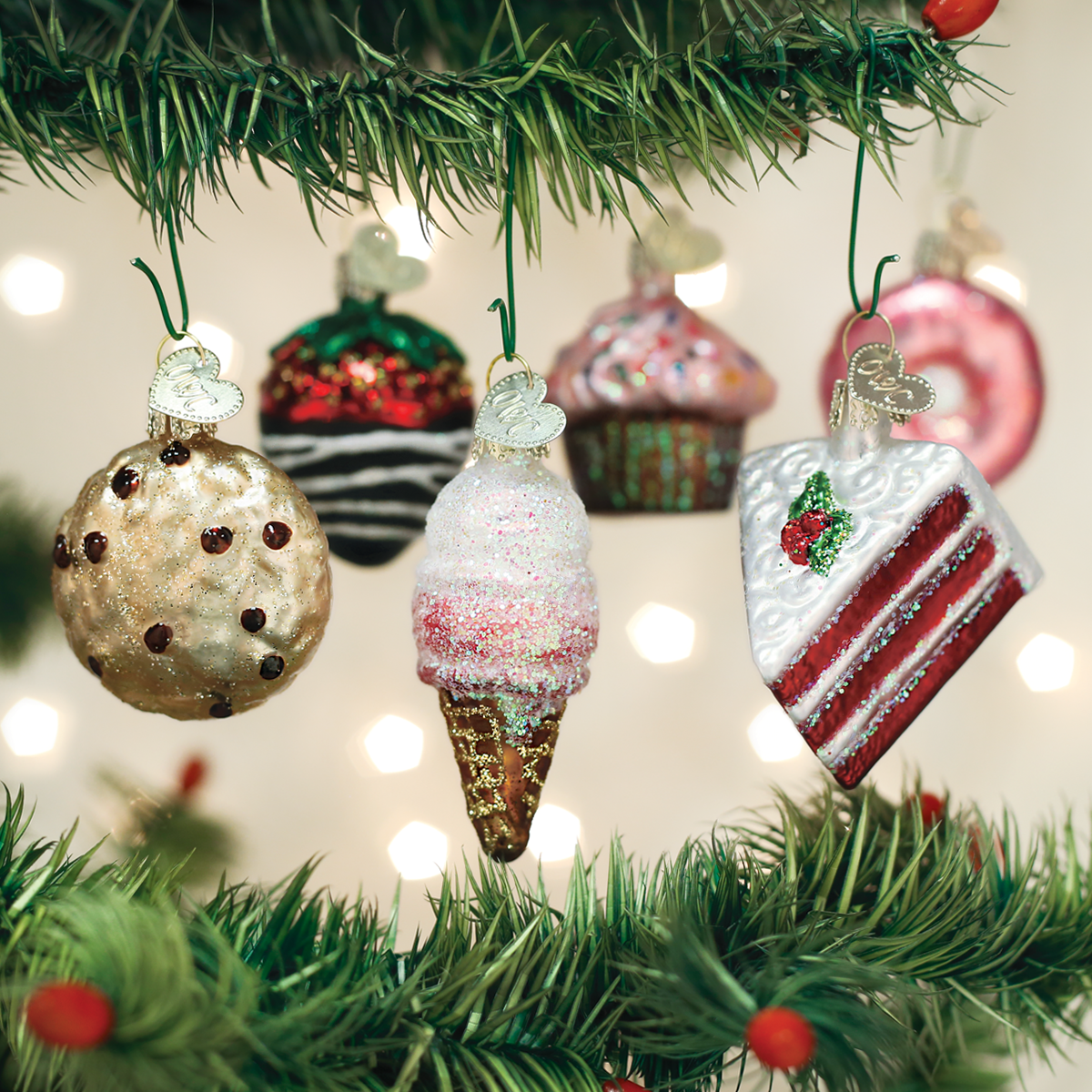 Mini Dessert Ornament Set