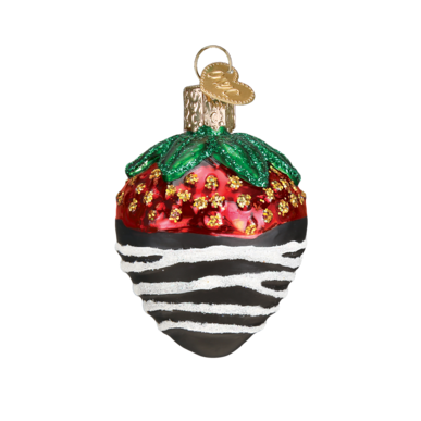 Mini Dessert Ornament Set Strawberry