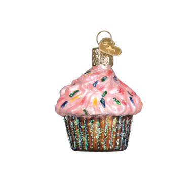 Mini Dessert Ornament Set Cupcake