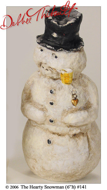 The Hearty Snowman - Debbee Thibault