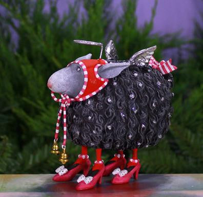 Barbara Black Sheep Ornament