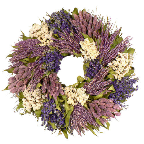 Patchwork Garden Wreath