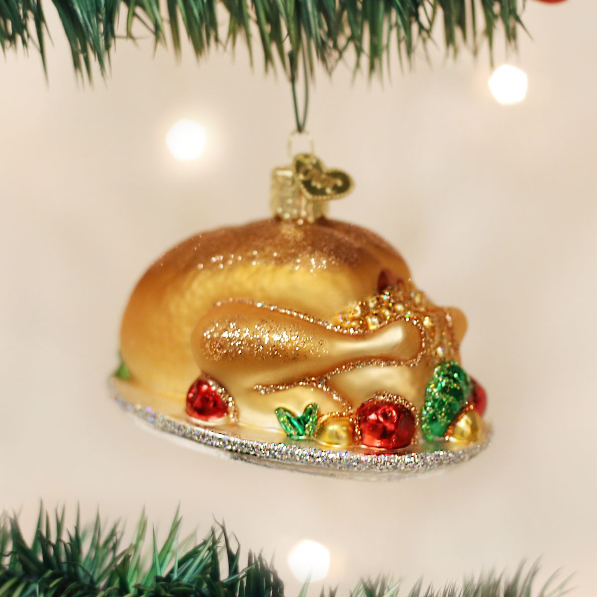 Turkey Platter Ornament