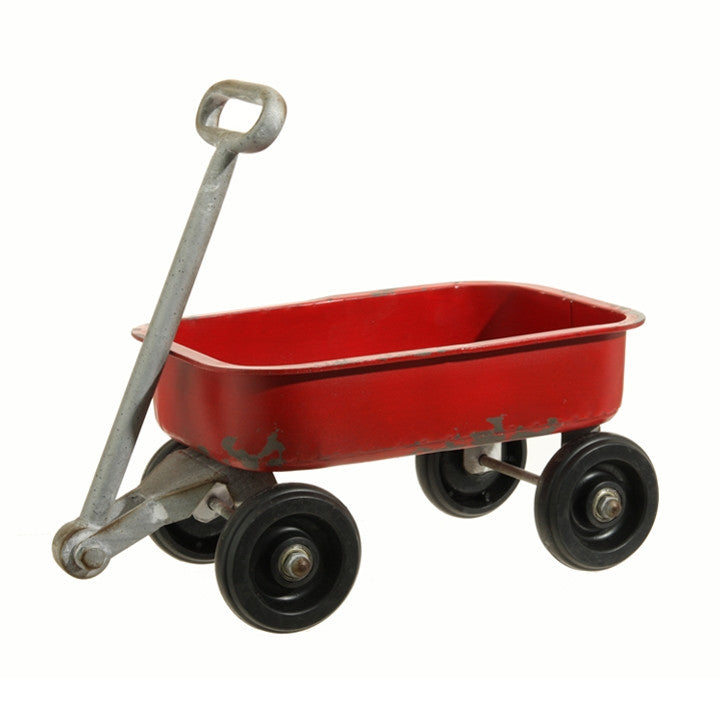 Red Wagon - Retro Christmas