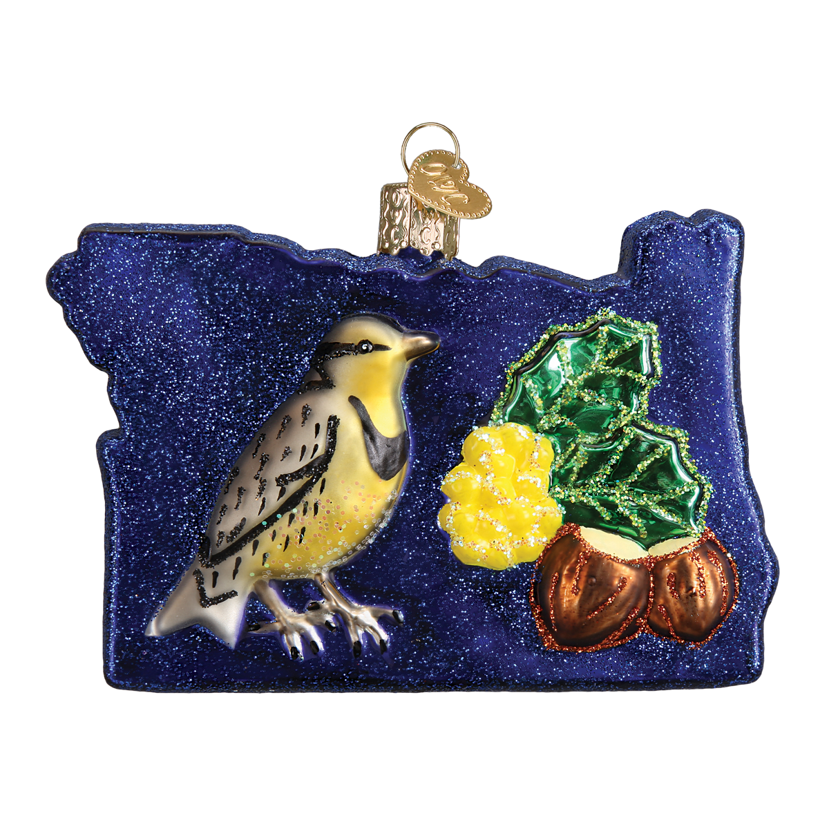 State of Oregon Ornament - Christmas Ornament ...