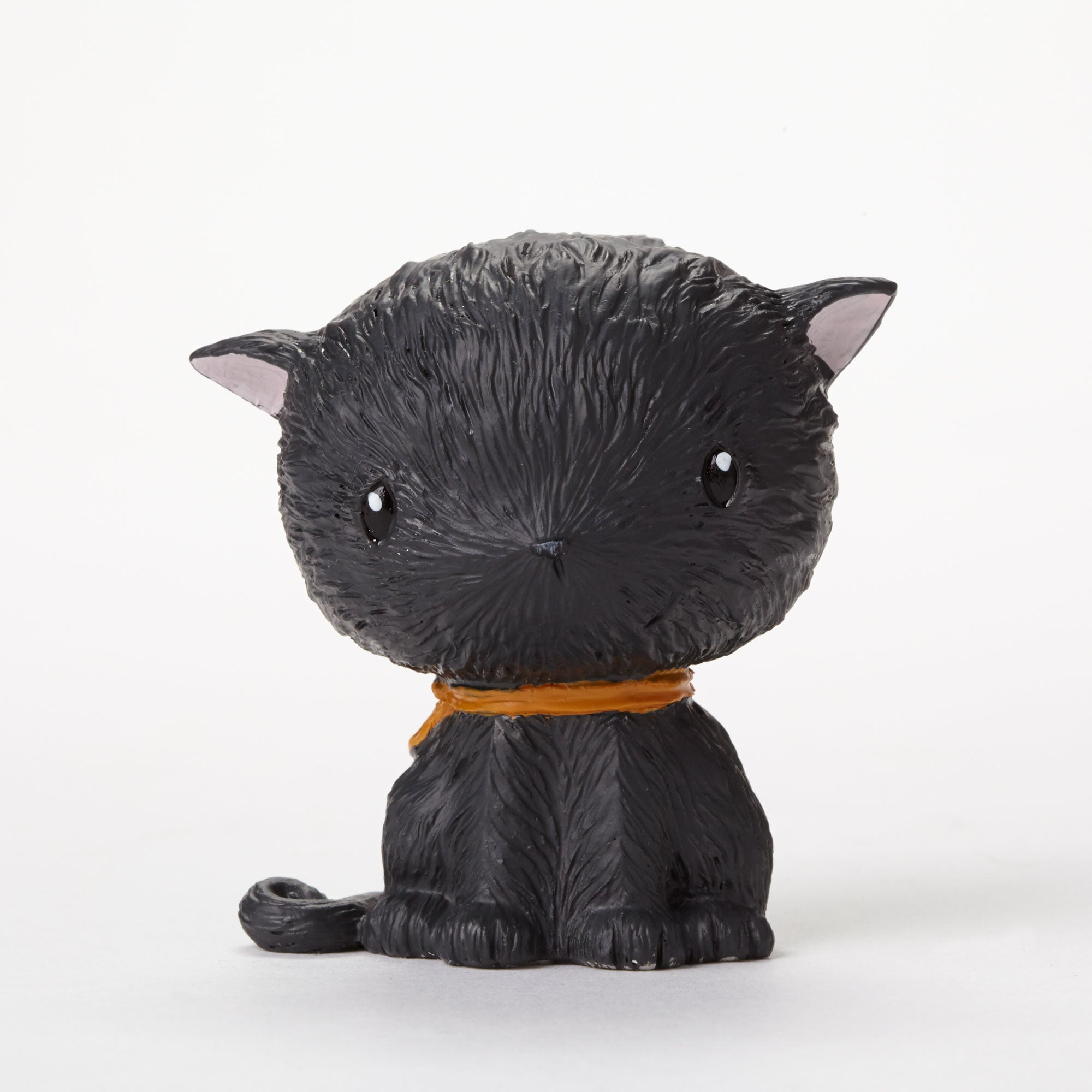Mini Black Cat Figurine