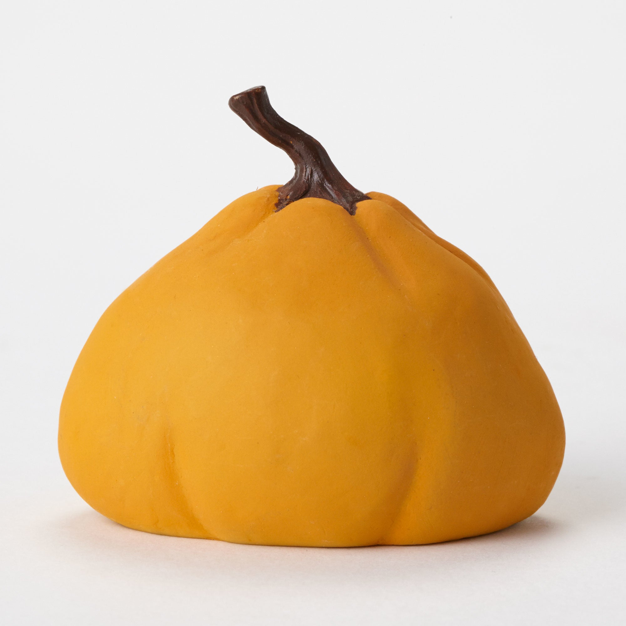 Mini Halloween Pumpkin Figurine Backside