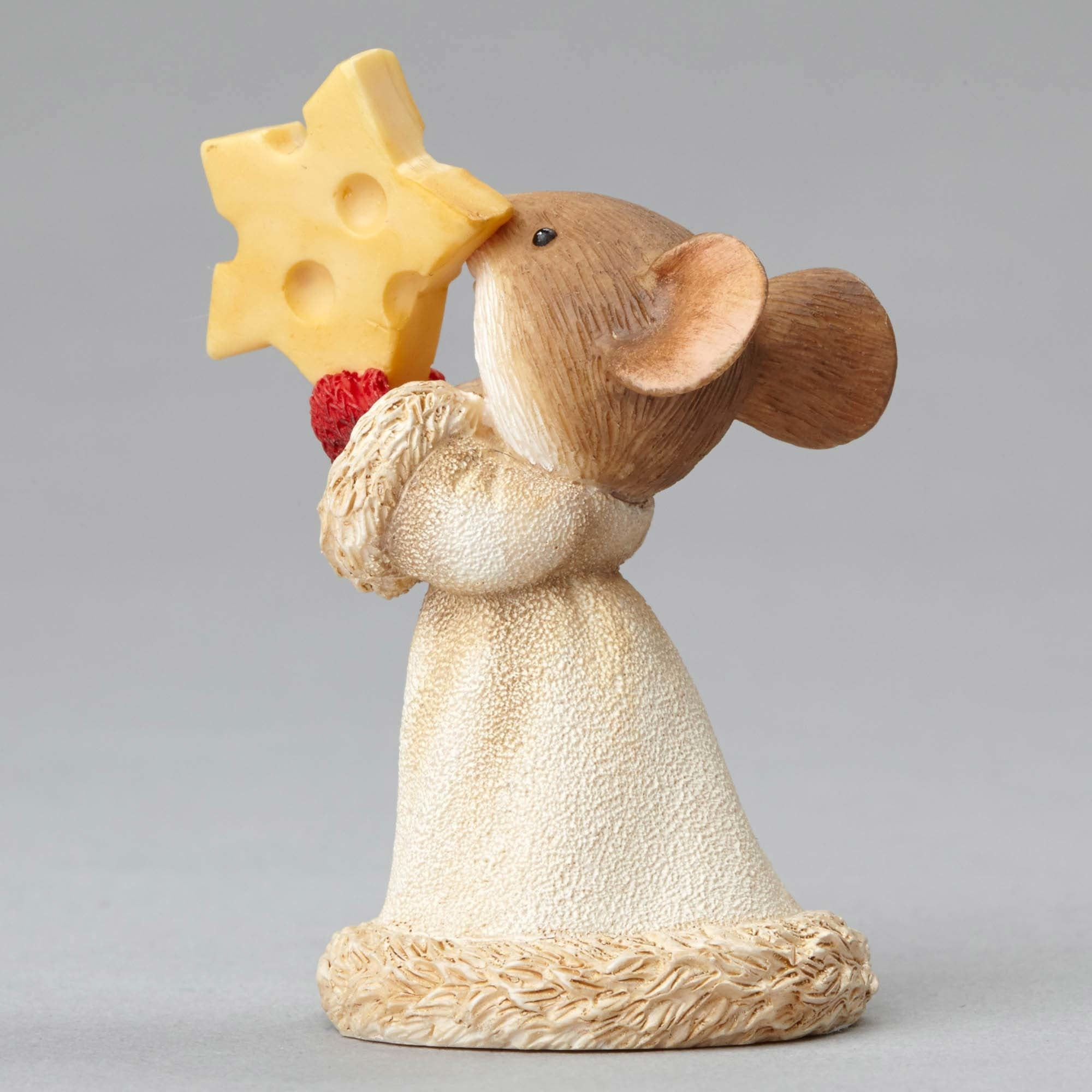 Christmas Mouse with Cheese Star - Backside