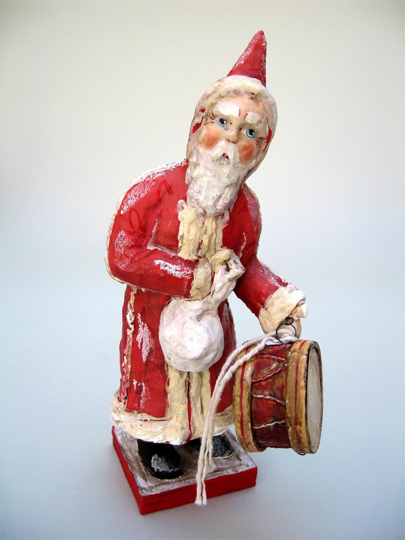 Santa with a Drum