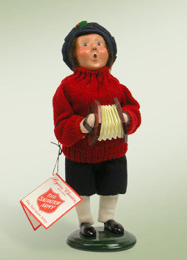 Salvation Army Boy with Squeeze Box