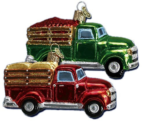 Farm Truck Ornaments