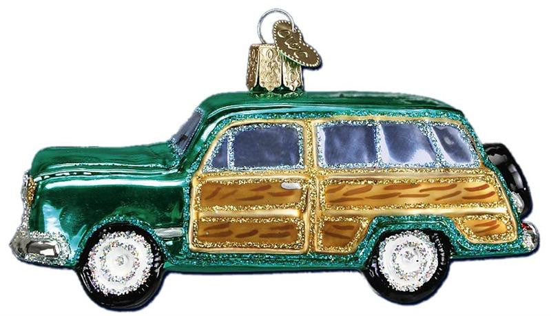 Woody Wagon Ornament