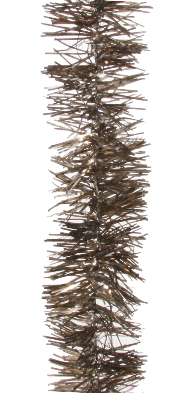 Antiqued Gold Tinsel Garland