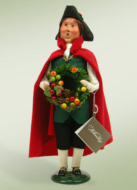 Colonial Man with Wreath