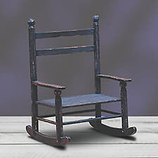 Doll Rocking Chair for Dolls by Joe Spencer