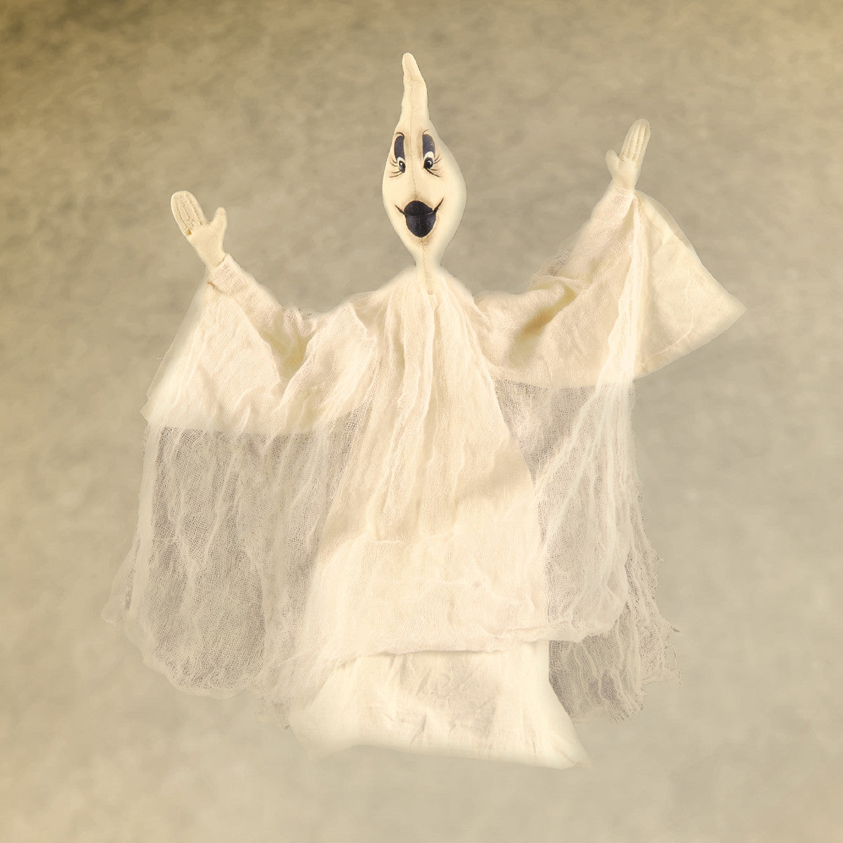 Joe Spencer Gareth Ghost Gathered Traditions Halloween Doll