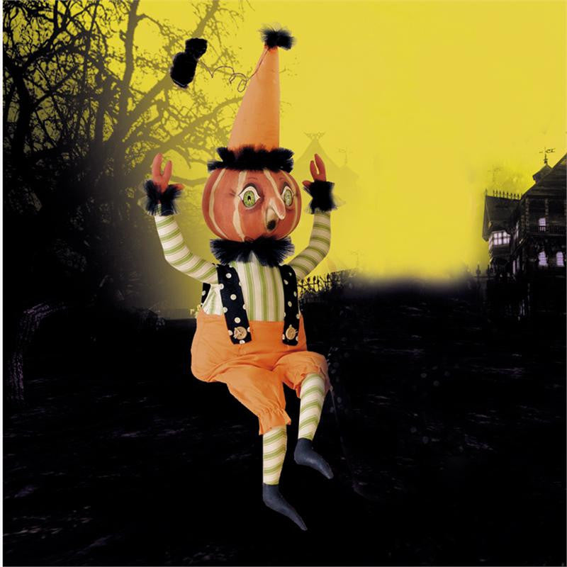 Ike Pumpkin Guy - Joe Spencer Halloween Doll