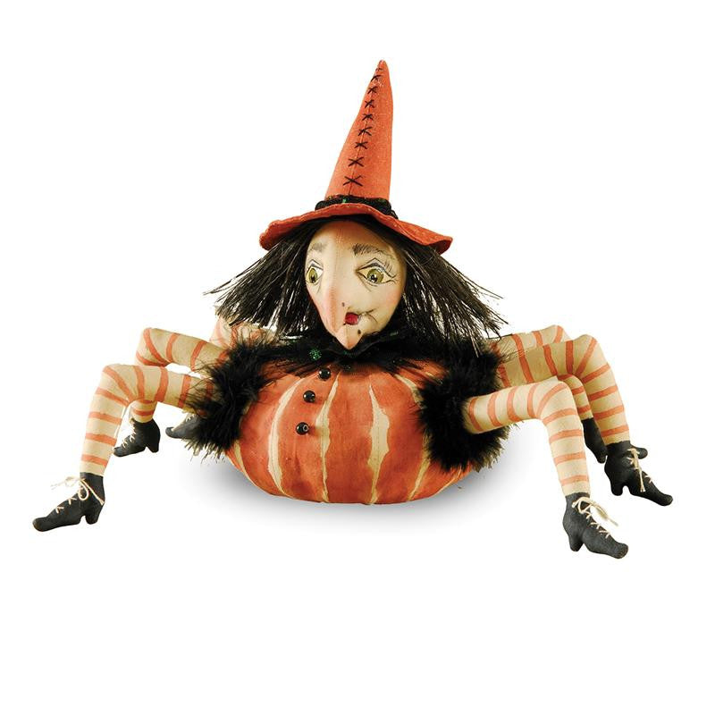 Esmeralda Spider Witch - Joe Spencer Halloween Cloth Doll