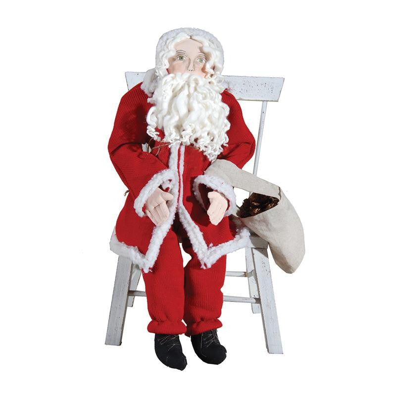Olaf Santa - Joe Spencer Christmas Santa Claus Doll