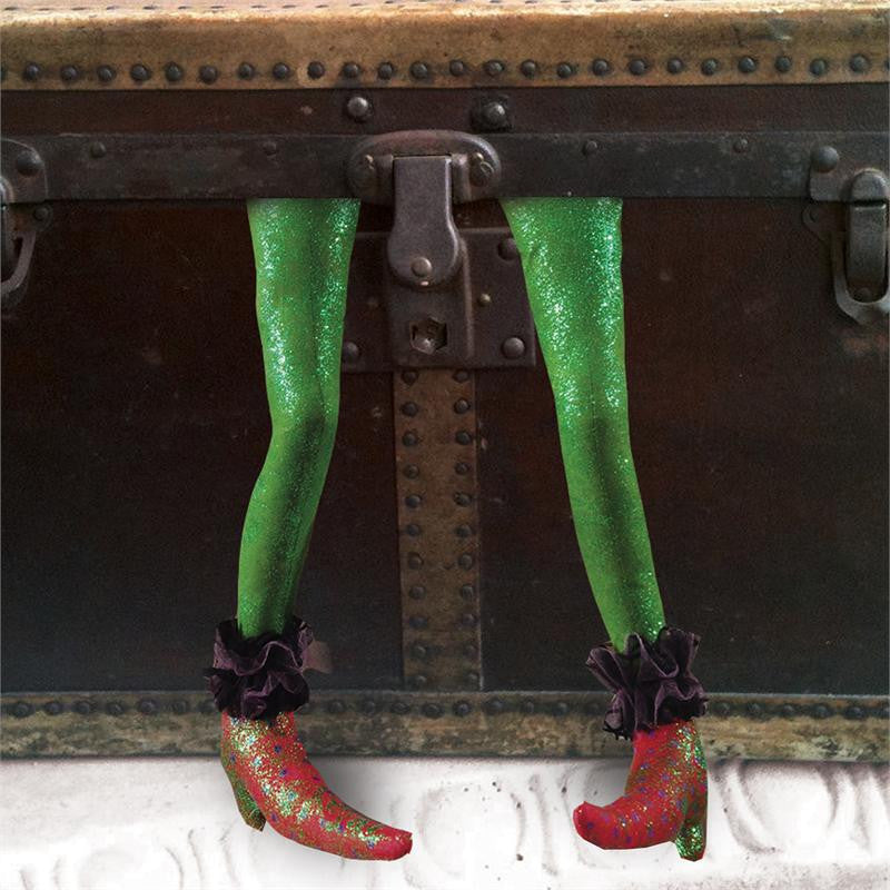 Green with Envy Witch Legs - Joe Spencer Halloween