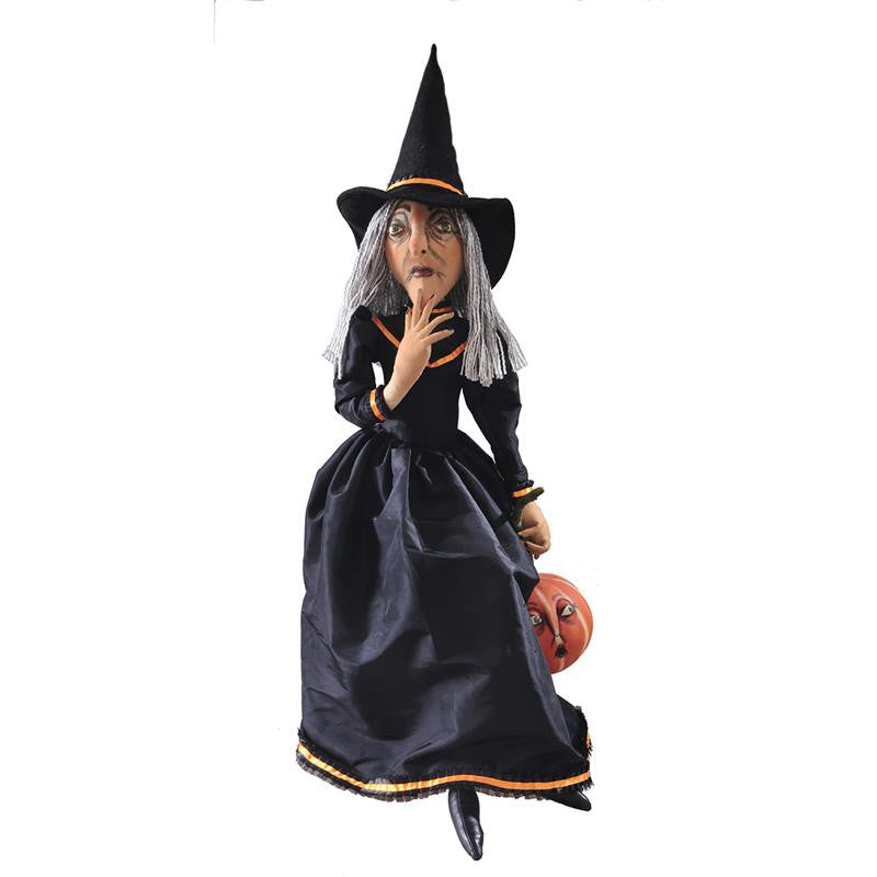 Clarice Witch - Joe Spencer Halloween Cloth Doll