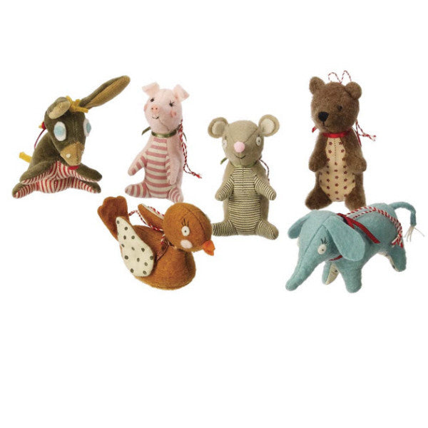 Mini Animal Ornaments