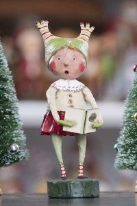 Lori Mitchell Melody Maker - Caroling Girl Figurine