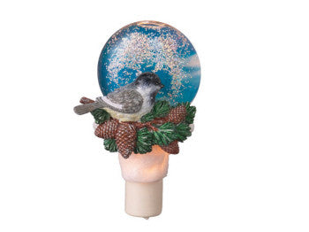 Chickadee Shimmer Night Light