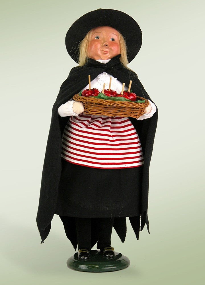 Witch with Candy Apples