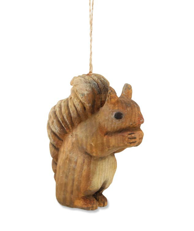Rustic  Squirrel Ornament