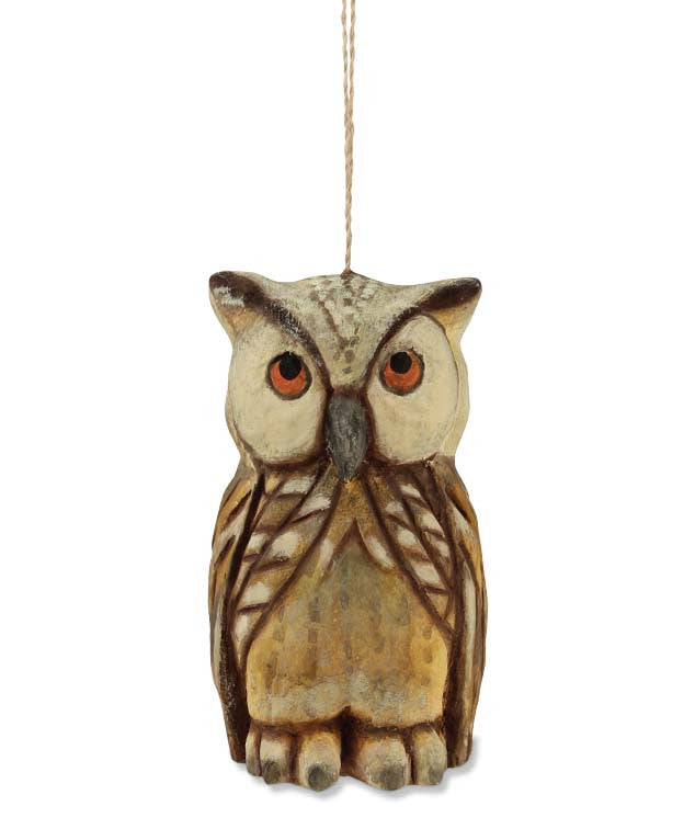 Rustic Owl Ornament