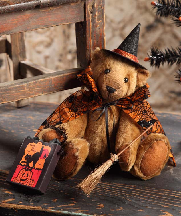 Trick or Treat Witch Bear