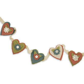Posie Heart Garland
