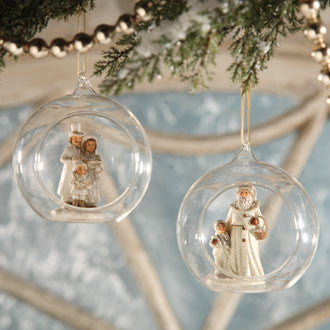 Winter Wonderland Globe Ornament