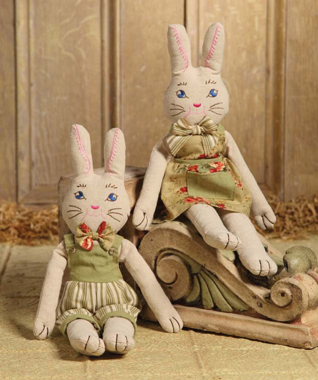 Rag Doll Bunny Girl & Boy