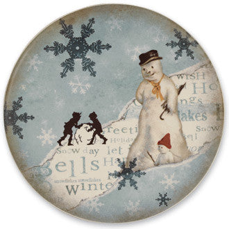 Winter Wonderland Dinner Plate