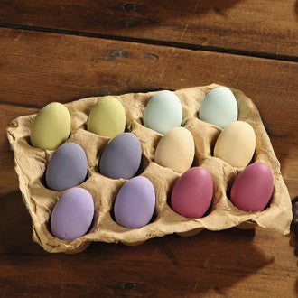 Mini Pastel Terra Cotta Eggs