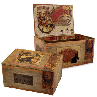 Halloween Cigar Boxes