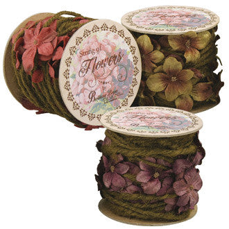 String of Flowers in Spool