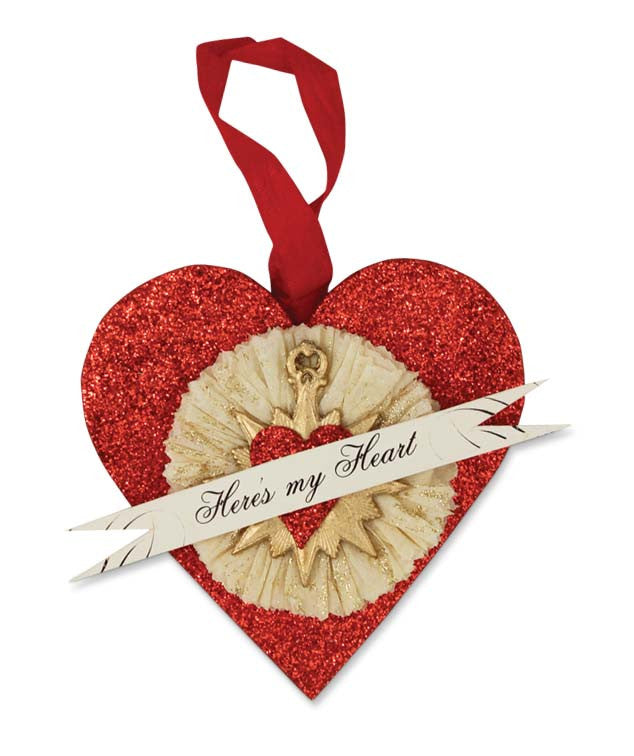 Heres My Heart Ornament