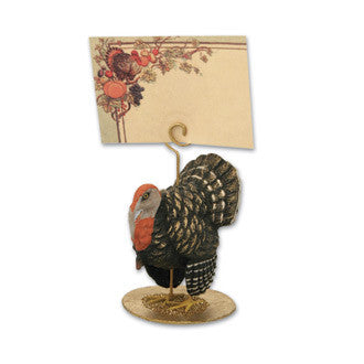 Fall Festival Thanksgiving Turkey Placecard Holder Dee Foust